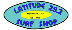 Latitude 29.2 Surf Shop